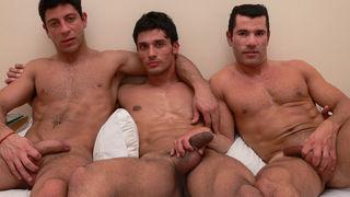 Casting Couch #132: Alvaro, Christian, Mariano