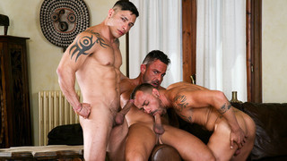 On the Prowl 1 - Scene 2: Julio Rey, Alex Brando, Mario Torres