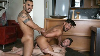 Latino Trio: Marcos Oliveira, Lucio Saints, Dann Grey