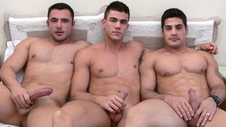 Casting Couch #1: Max Schutler, Daniel Marvin, Pedro Andreas