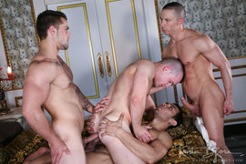 CHAPTER 5, Diesel O'Green, Abel Pozsar, Milos Zambo, Lucio Saints (First Time 1)