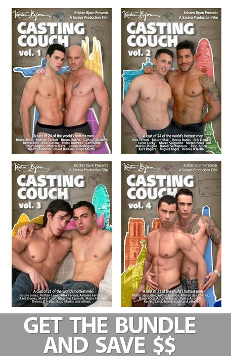Casting Couch Vol. 1,2,3,4 Bundle