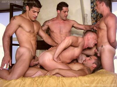 Bang gang gay muscle