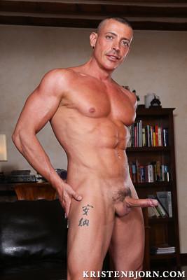 from Cash kristen bjorn gay nude model