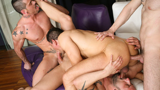 Men in the City 2 - Intense Rapport: Antonio Miracle, Mario Domenech, John Rodriguez, Rainer