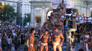 Kristen Bjorn at Gay Pride Madrid